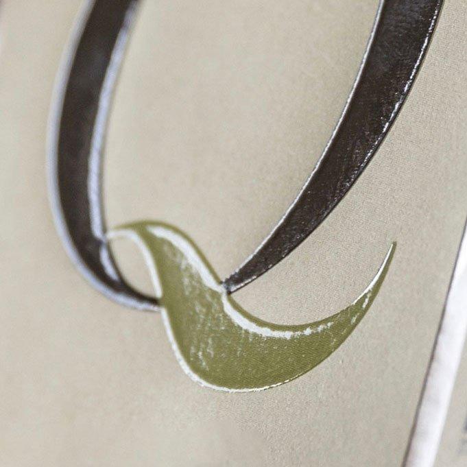 etichette autoadesive rilievo serigrafico