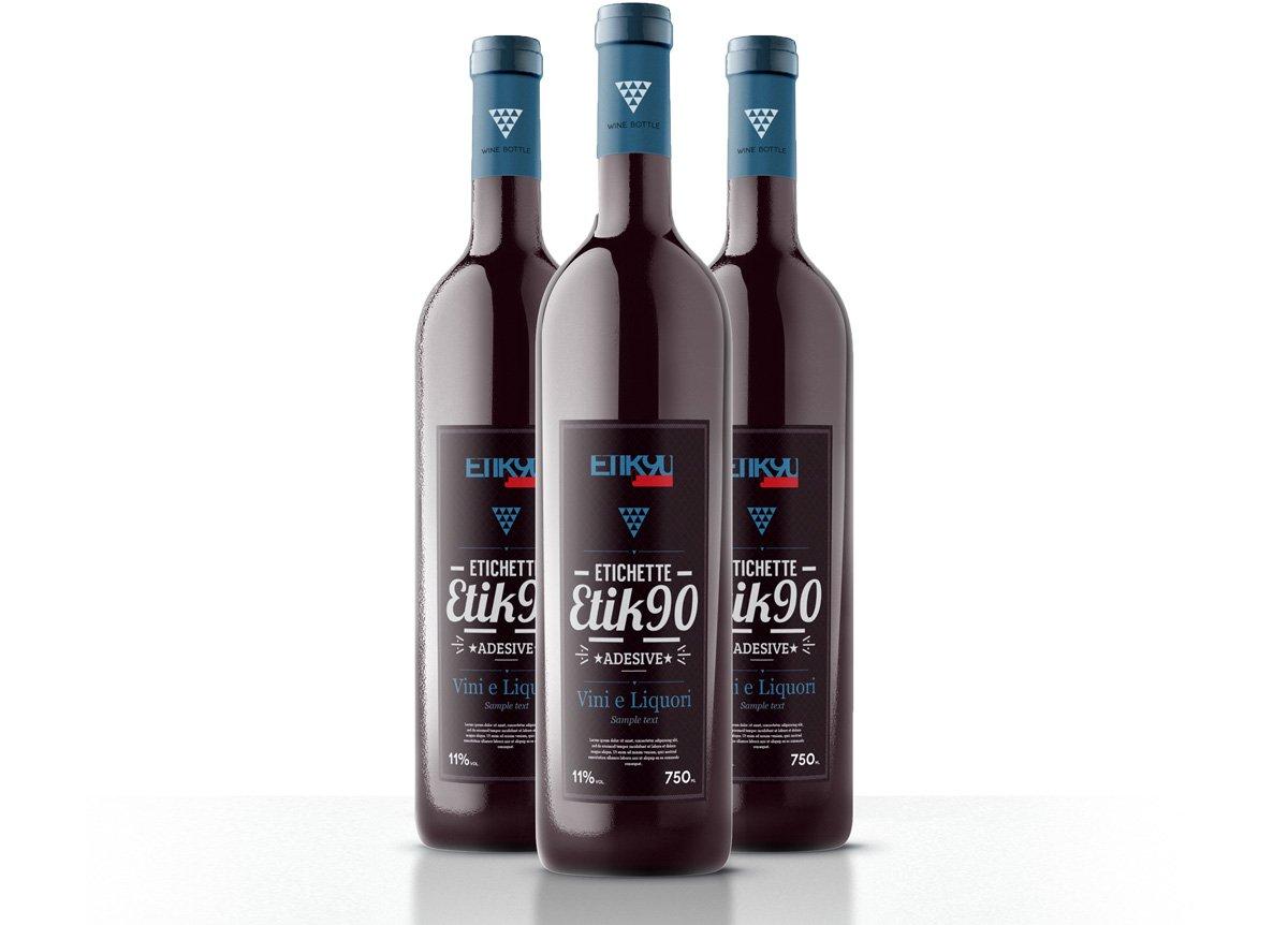 stampa etichette adesive vino e liquori