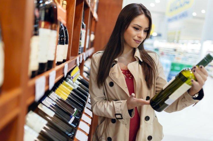 Le etichette da vino: come catturare l'occhio del cliente