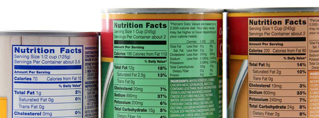etichette alimentari da stampare